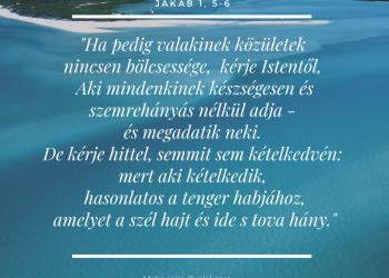 kérjen istentől látást)